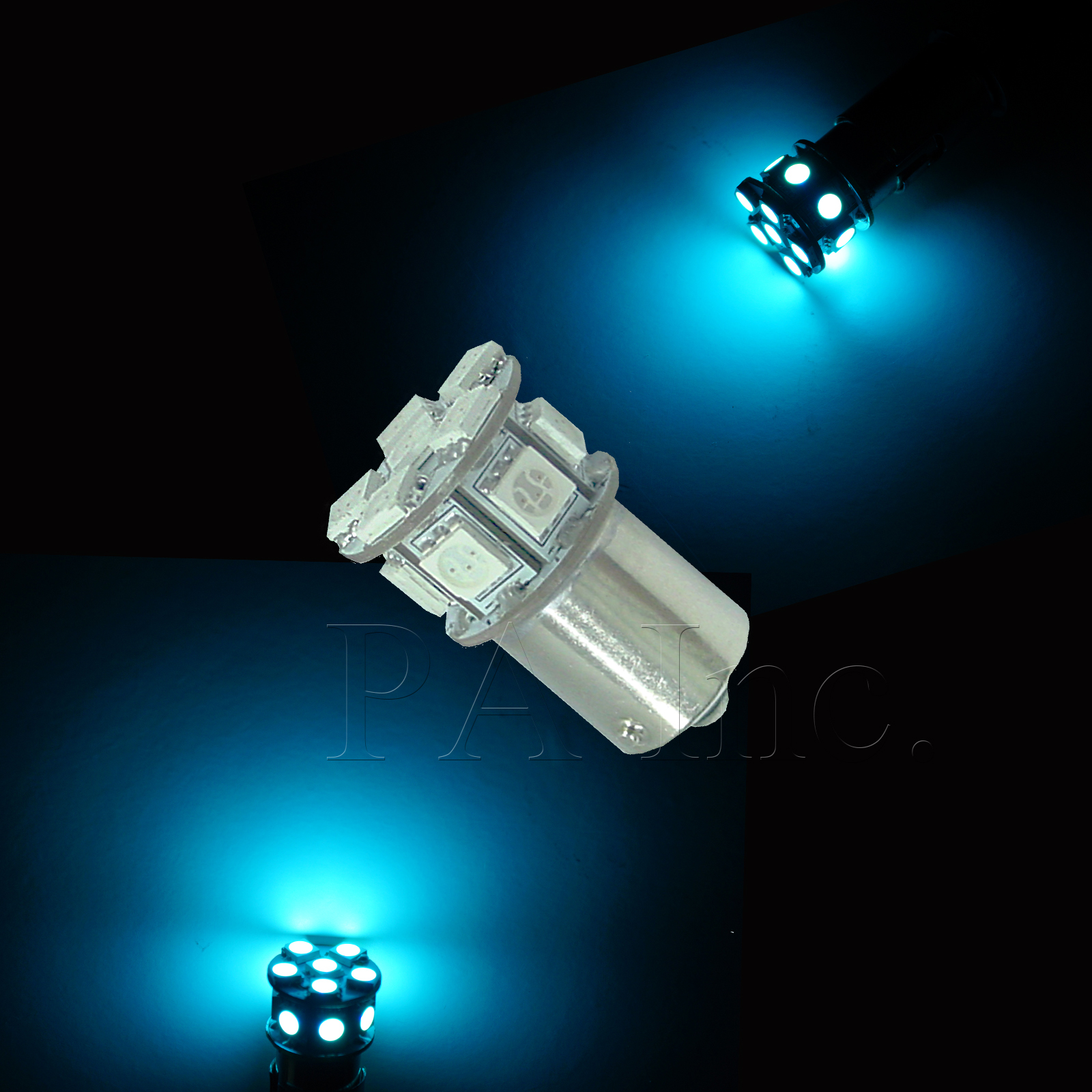 4x P21/5W BAY15D 13 High Bright 5050 SMD LED Direction Indicator ...