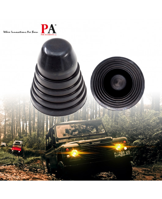 2x Rubber Seal Cap Dust Waterproof Housing Cover 6 Size for LED HID Headlight