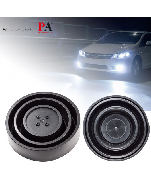 2x Rubber Seal Housing Dust Waterproof Cap Cover 5 Size for LED HID Headlight
