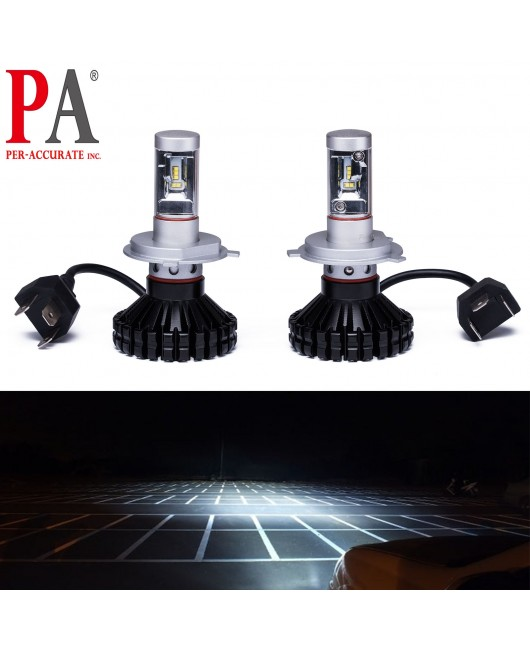 PA 2017 Hot Selling  10 series Car Headlamp High Power PHILIPS ZES LED H4