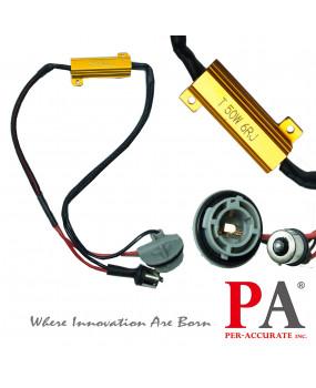 PA LED 2x 1156 BA15S 50W 6ohm Load Resistor Canbus Fix LED Bulb Error Code Error Free