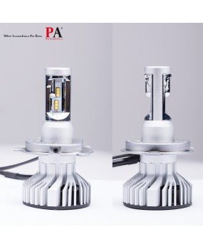 PA 2x LED Headlamp Fog light 120W Philips Z-ES chip All in One Car Hi/Lo Beam H4 Auto headlight