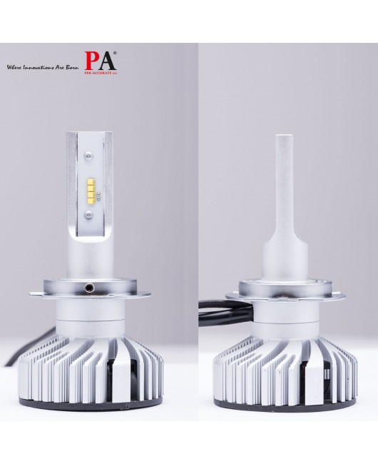 PA 1 Pair H7 LED Headlight Conversion Kit 10000LM 80W for Automotive Motorcycle Headlamp