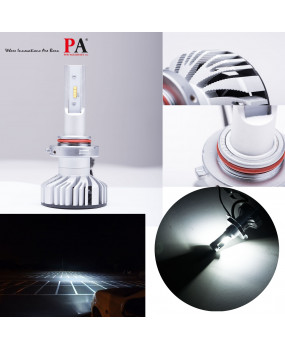 PA 1 Pair 9005/9006/H10 LED Headlight Conversion Kit 10000LM 80W for Automotive Motorcycle Headlamp
