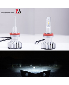 PA 1 Pair H8/H9/H11 LED Headlight Conversion Kit 10000LM 80W for Automotive Motorcycle Headlamp