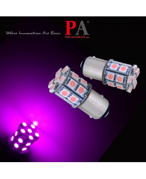 PA 2pcs 20SMD LED Auto Turn Signal Light Bulbs Pink color