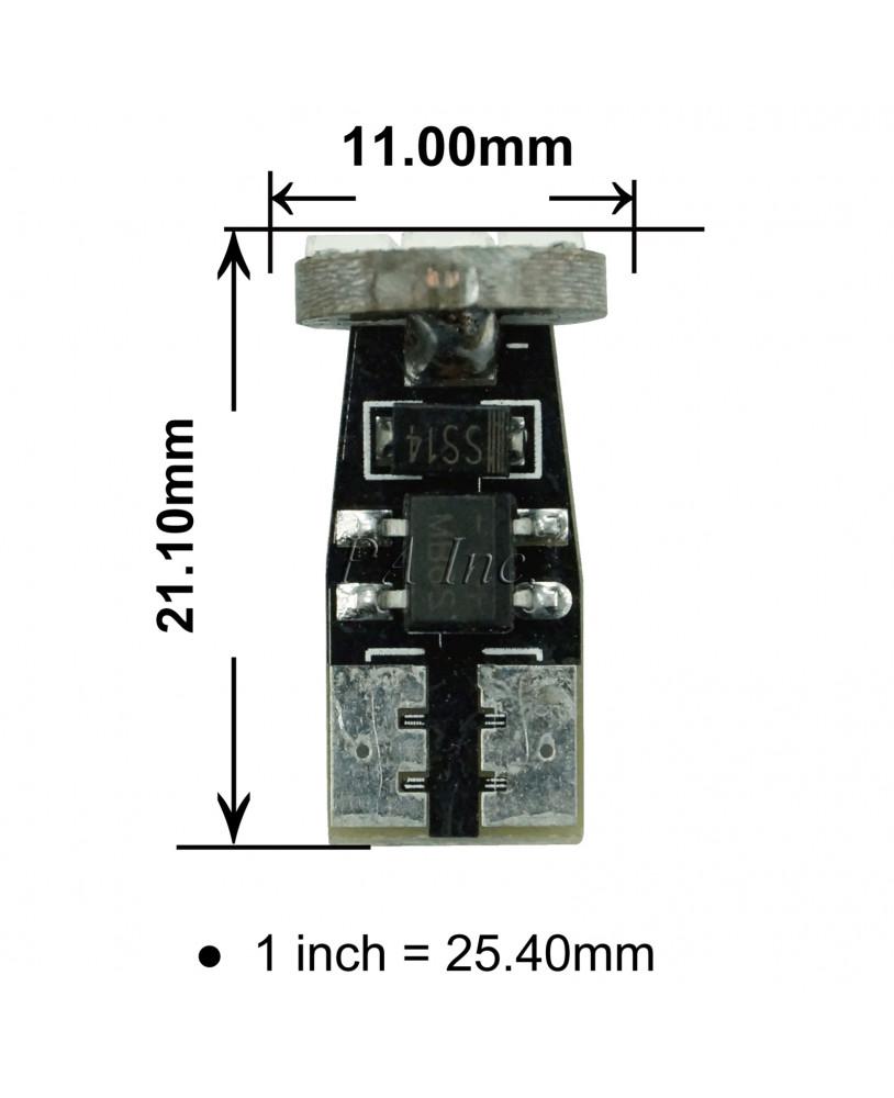 Pa 2pcs Auto Vehicle Side Marker Turn Signal Parking Light Bulb 3 Bike Turning Indicator Circuit Using 555 Timer Smd 5630 Led High