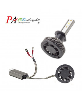 H1 / H7 / H8 H9 H10 Ultra Mini Small Size Super Bright 6000K White Light Headlights Motor Car -- PA LED