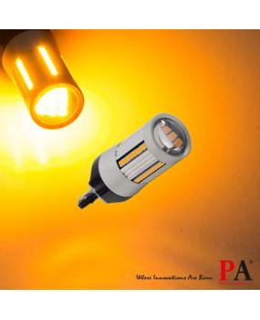 PA 2x 66 SMD Auto LED T20 7440 Turn signal light Uniform brightness CANBUS ERROR FREE Yellow