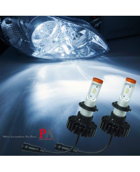 PA Pair 9~32V H7 80W 6000LM PHILIPS Chip LED Headlight Headlamp Bulb Kit WHITE
