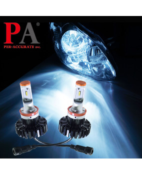 PA Car LED Head light H8 H9 H11 H16J ZES 80W Lamp Bulb Automobile Headlight Kit