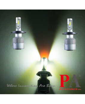 PA LED 2017 Hot Sales  8 series Auto H4 Headlamp 120W High Power COB LED Scooter Headlight Auto LED Headlight
