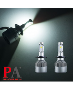 PA 2017 Hot Selling  8 series Car H7 Headlamp 60W High Power COB led scooter headlight