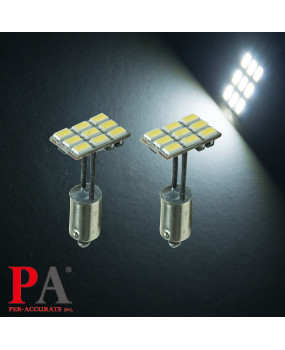 PA 12v interior dome reading Light  9SMD ba9s