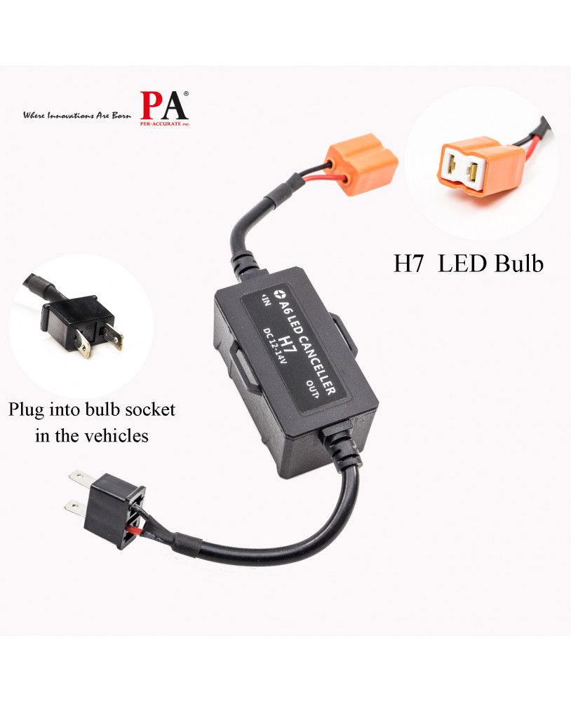 PA LED] Car LED Headlights Decoders, Fault Elimination / Fault