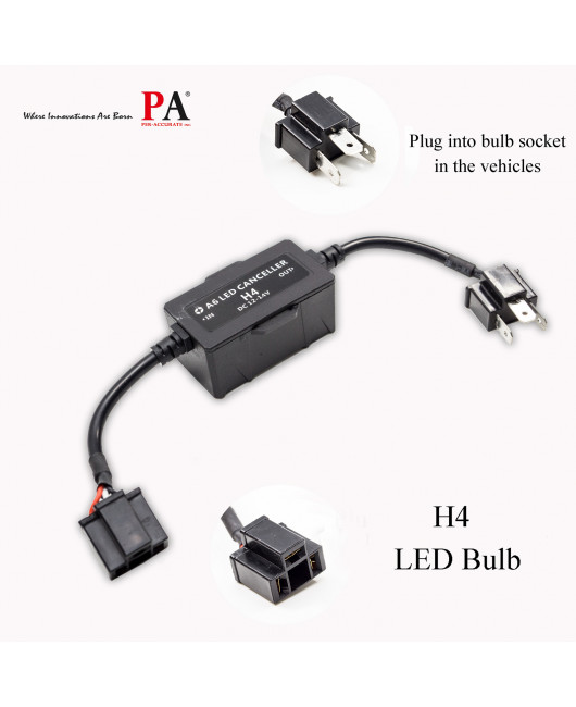 [PA LED] Car LED Headlights Decoders, Fault Elimination / Fault lights / Warning lights / Fault codes / Anti-flicker and other Fault (various specifications)
