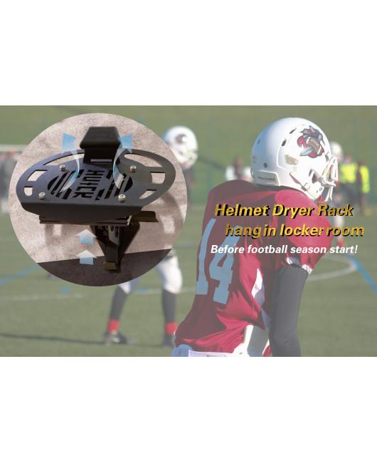 【PA LED】Black Helmet Rack -VENTILATE w/ Silent Fan
