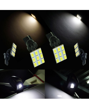 PA flexible LED T10 5630 9SMD Interior reading Light 2pics