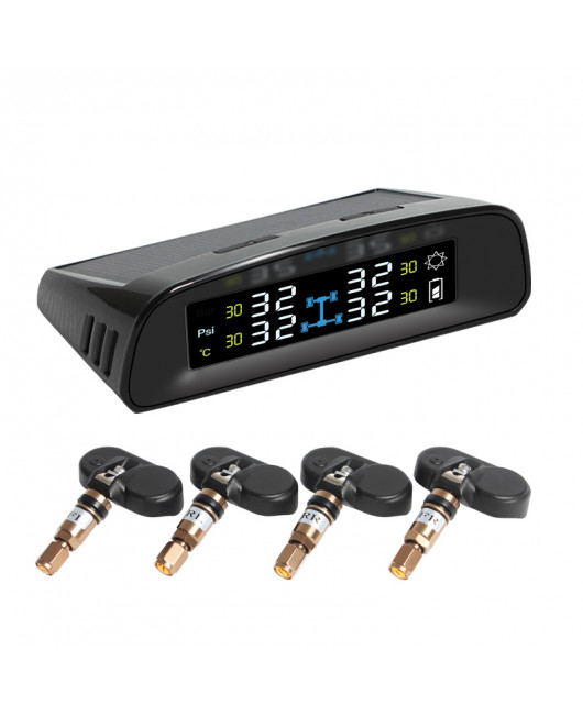 PA TPMS Solar Wireless Tire Pressure Monitoring System Internal