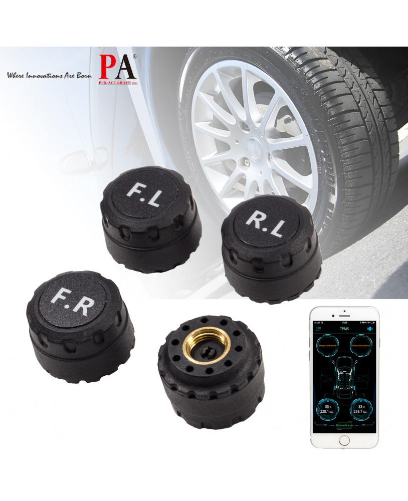 PA LED TPMS Sensor Bluetooth Tire Pressure Monitoring System
