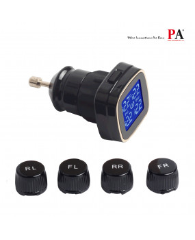 PA External TPMS Tire Pressure Monitoring System Cigarette Lighter