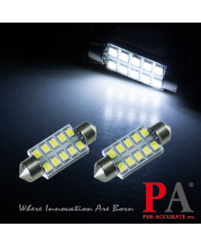 PA LED 39MM License Plate Light Bulb White For VAG