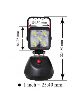 PA 1x LED Work 3 functions Portable Work Handheld