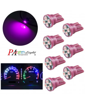 10PCS 4SMD 3528 T10 LED Pinball Machine Bulb