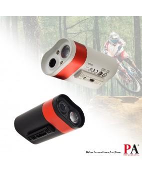 【PA LED】Bat Eye 自行車 腳踏車 Wifi 無線 行車記錄器 1080P 數位 縮時攝影 高亮度頭燈 手電筒 方便連接手機 App 黑白雙色