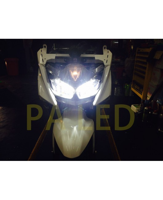 【專賣店】直上 Yamaha Force 頭燈 大燈 H7 LED 超迷你尺寸 其他車款也可以用 --- PA LED