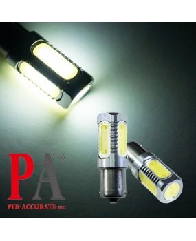 【PA LED】24V 大貨車 大客車 1156 單芯 7.5W 5面 COB 高功率 LED 超白光 倒車燈 方向燈