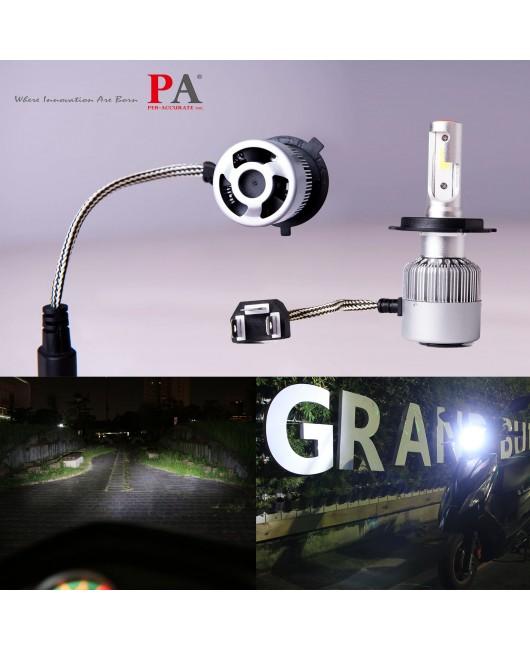 【PA LED】H8 H9 H11 H16J 雙重散熱 60W COB 高功率 6000K 白光 LED 大燈 霧燈 特價再特價 599 帶回家