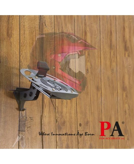 【PA LED】USB 靜音風扇 安全帽架 桌上立架 門掛版