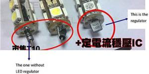 Where we install this regulator (IC) inside the LED Bulb?