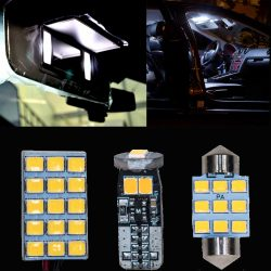 PA LED DECENT Indoors, License Plate Bulb Series